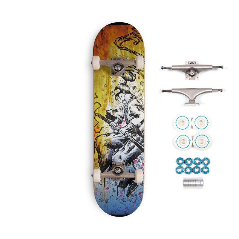 Blade of Sakura Accessories Skateboard by inbrightestday's Artist Shop