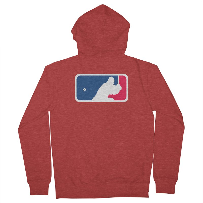 Major League Ninja Men's Zip-Up Hoody by inbrightestday's Artist Shop