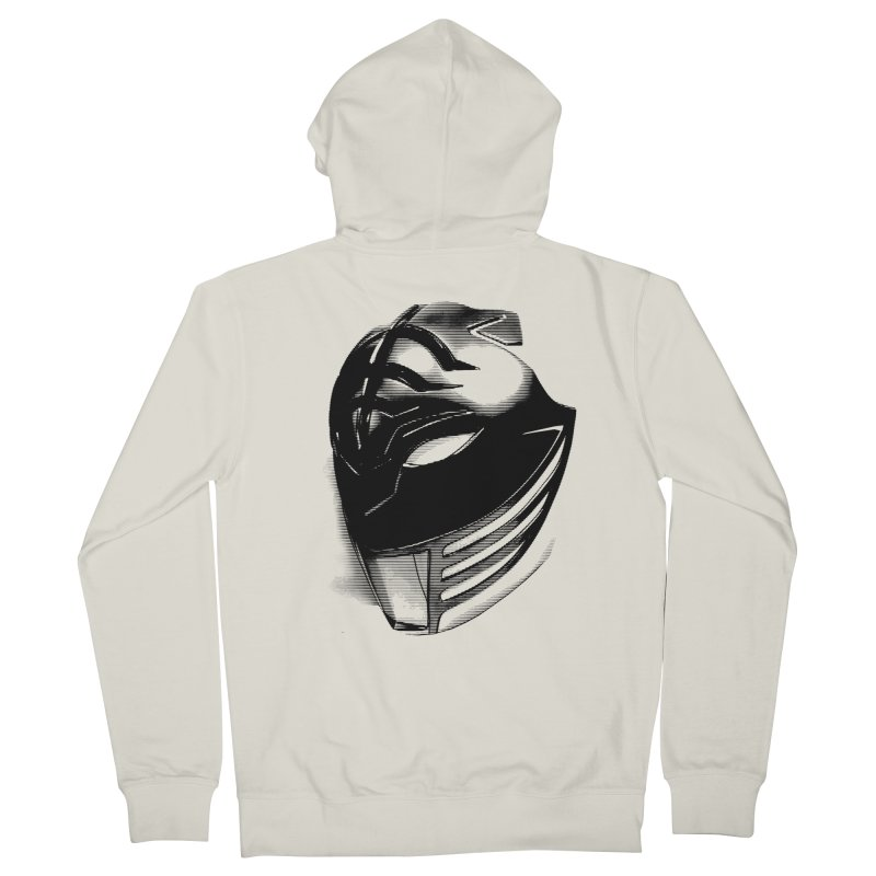 Tiger Face Men's Zip-Up Hoody by inbrightestday's Artist Shop