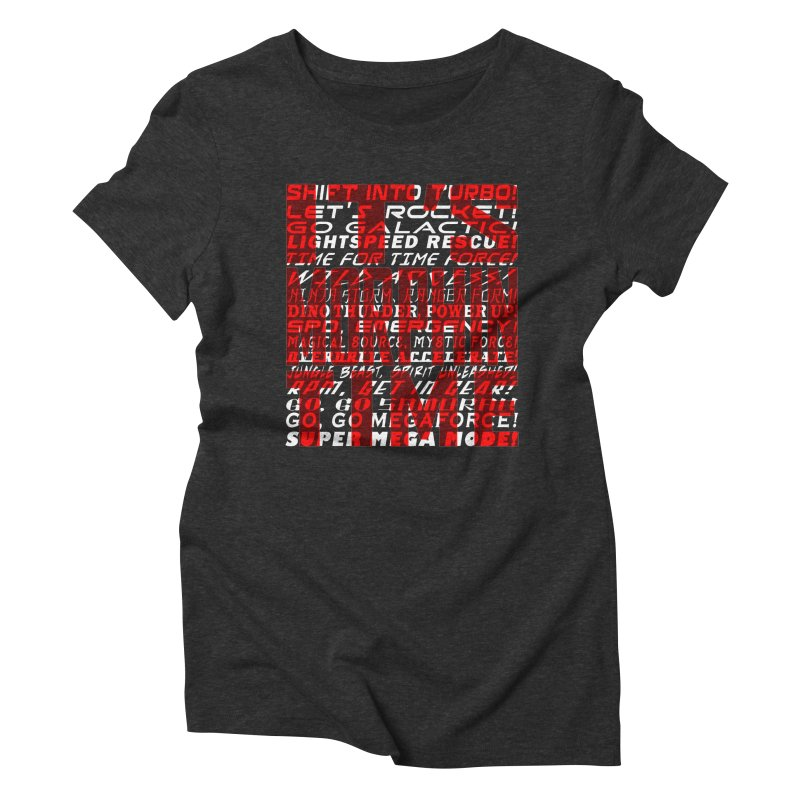 It's Time Women's Triblend T-shirt by inbrightestday's Artist Shop