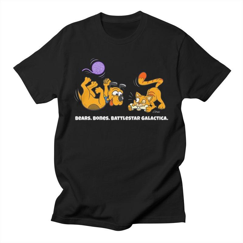 Bears. Bones. Battlestar Galactica. Women's T-Shirt by Incapio Art Store