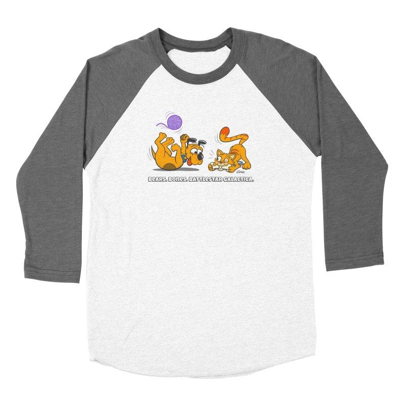 Bears. Bones. Battlestar Galactica. Women's Longsleeve T-Shirt by Incapio Art Store