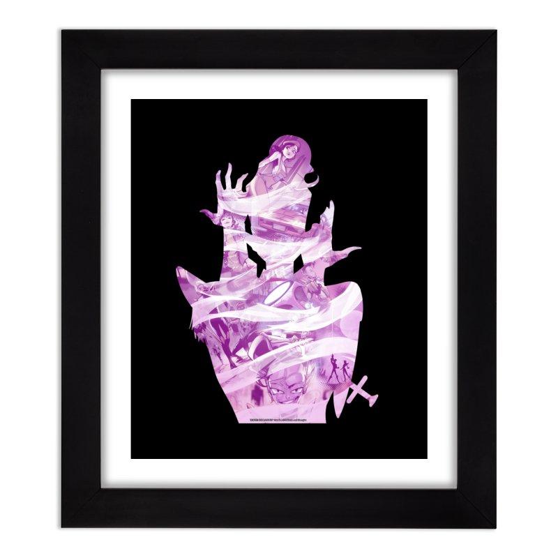 Tribute: The B.U.t14u7 1s Home Framed Fine Art Print by incogvito's Artist Shop
