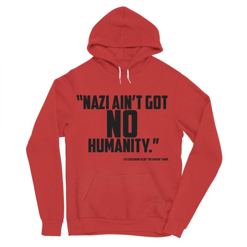 No Humanity Quote Men's Sponge Fleece Pullover Hoody by incogvito's Artist Shop