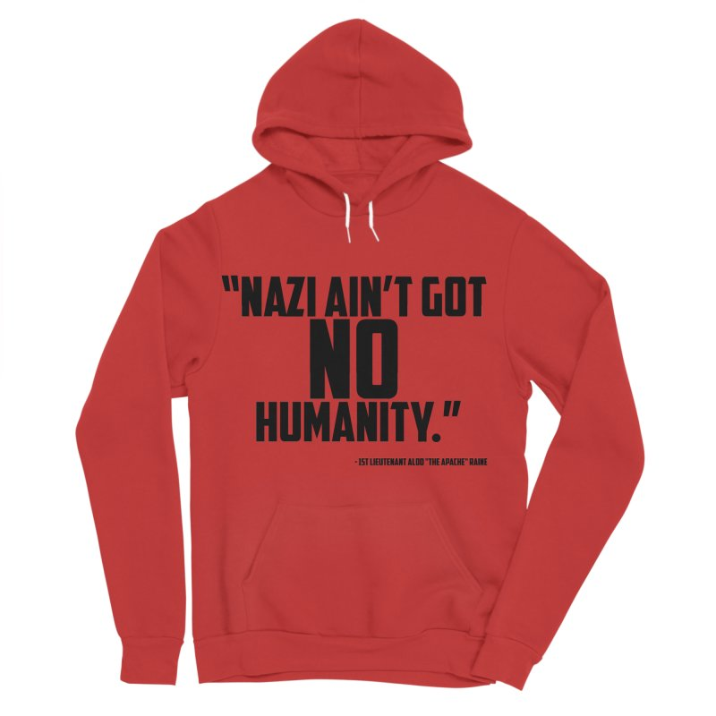 No Humanity Quote Women's Sponge Fleece Pullover Hoody by incogvito's Artist Shop