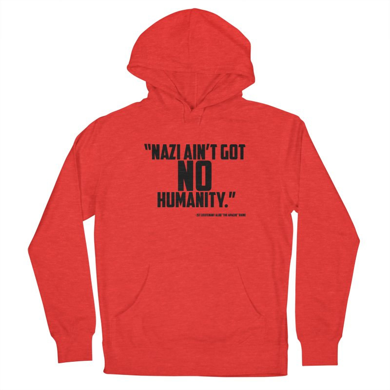 No Humanity Quote Women's Pullover Hoody by incogvito's Artist Shop