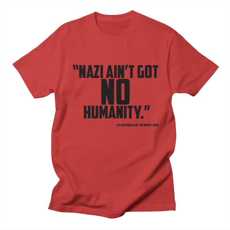 No Humanity Quote Men's Regular T-Shirt by incogvito's Artist Shop