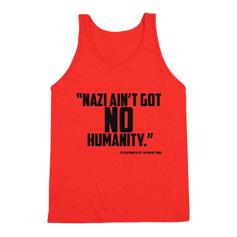 No Humanity Quote Men's Tank by incogvito's Artist Shop