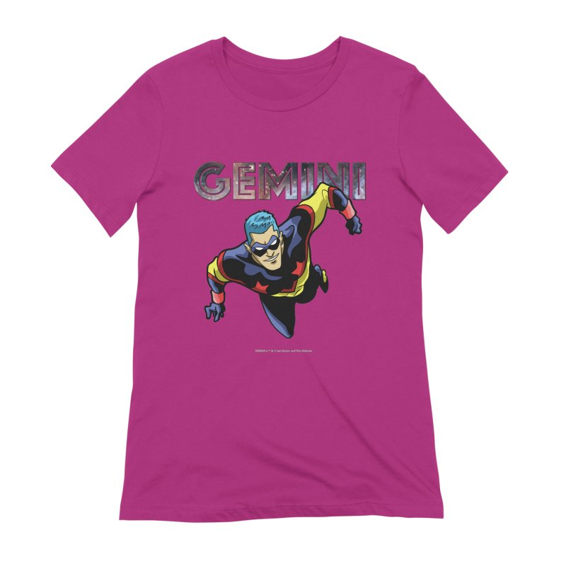 Gemini - Take Flight Women's Extra Soft T-Shirt by incogvito's Artist Shop