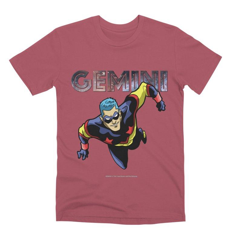 Gemini - Take Flight Men's Premium T-Shirt by incogvito's Artist Shop
