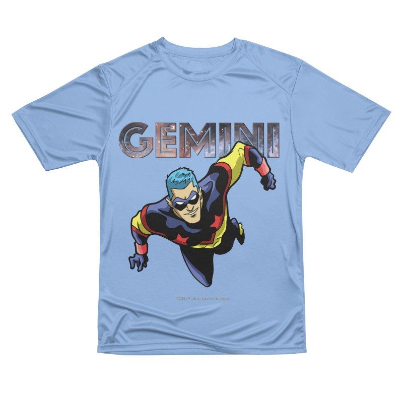 Gemini - Take Flight Women's Performance Unisex T-Shirt by incogvito's Artist Shop