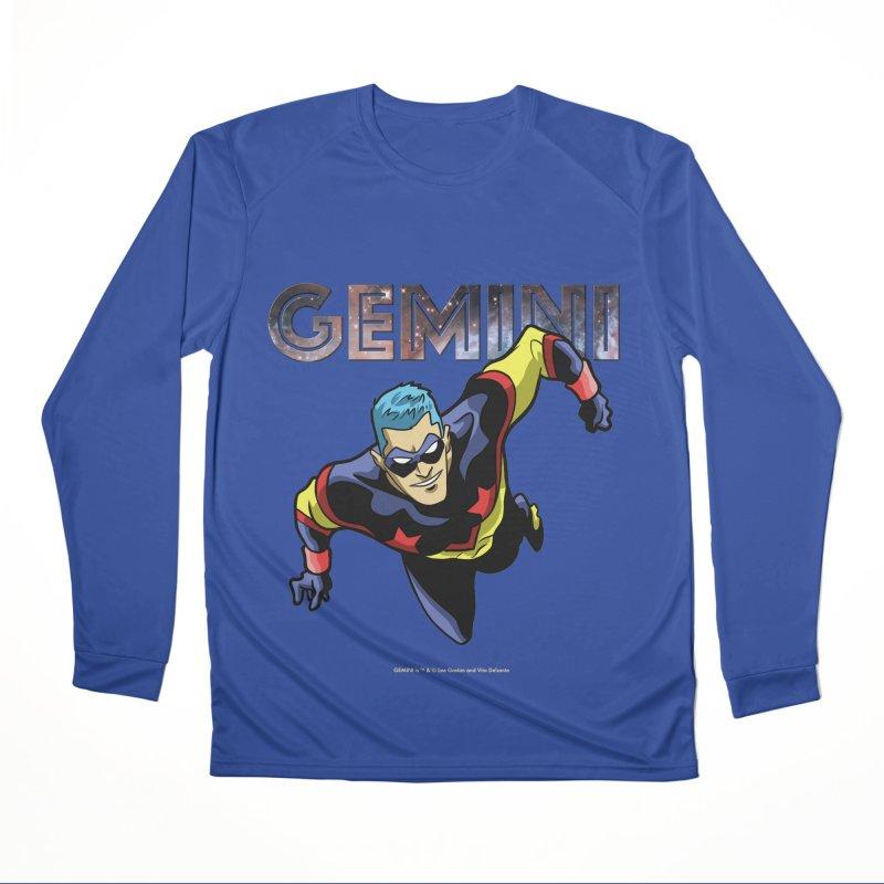 Gemini - Take Flight Women's Performance Unisex Longsleeve T-Shirt by incogvito's Artist Shop