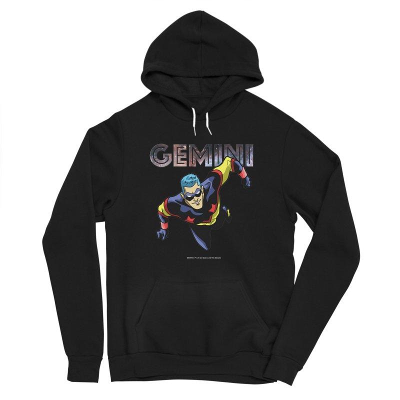 Gemini - Take Flight Women's Sponge Fleece Pullover Hoody by incogvito's Artist Shop