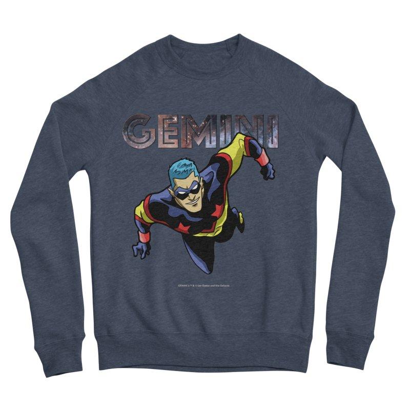 Gemini - Take Flight Men's Sponge Fleece Sweatshirt by incogvito's Artist Shop