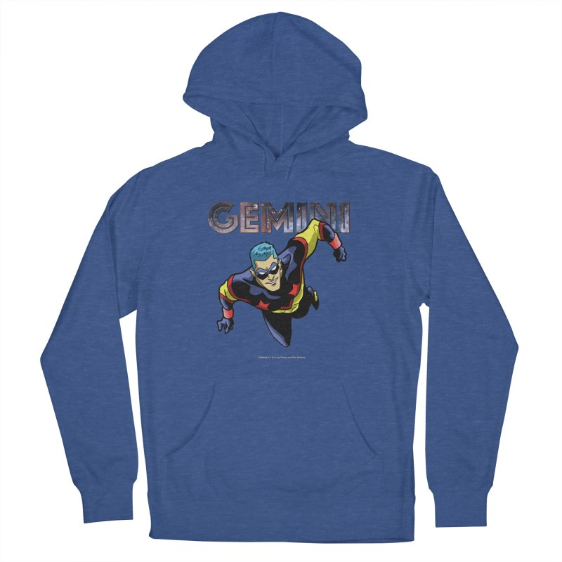 Gemini - Take Flight Men's French Terry Pullover Hoody by incogvito's Artist Shop