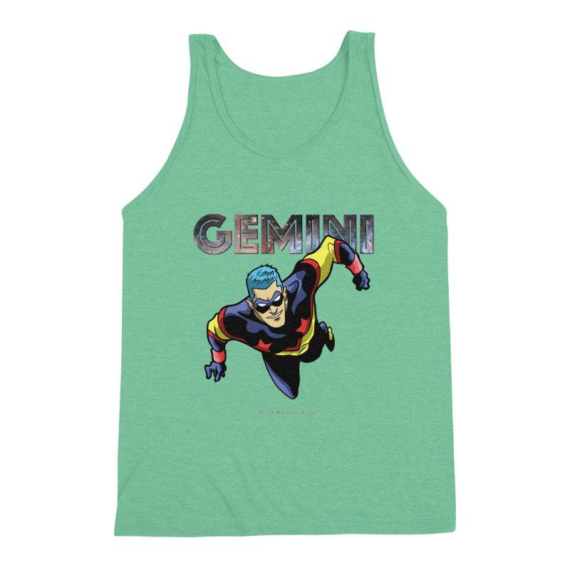 Gemini - Take Flight Men's Triblend Tank by incogvito's Artist Shop