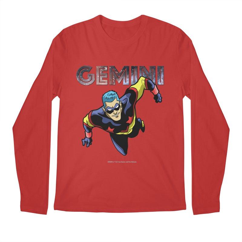 Gemini - Take Flight Men's Regular Longsleeve T-Shirt by incogvito's Artist Shop