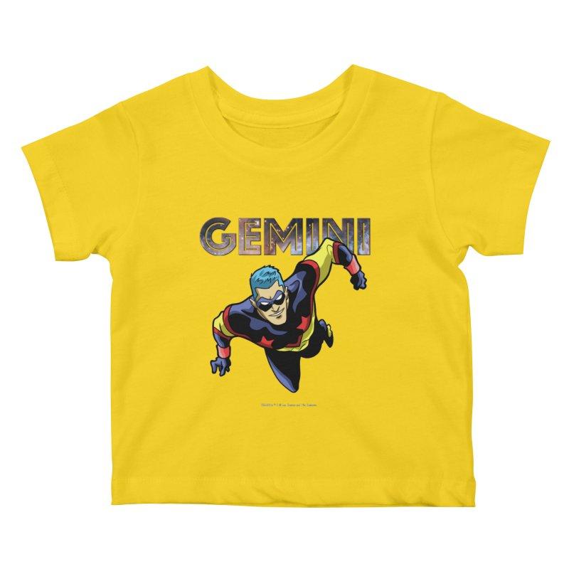 Gemini - Take Flight Kids Baby T-Shirt by incogvito's Artist Shop