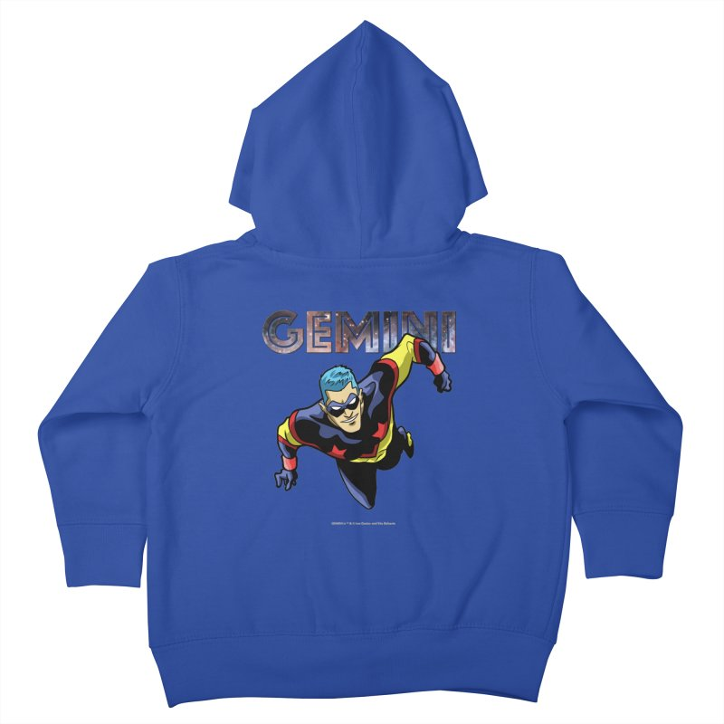Gemini - Take Flight Kids Toddler Zip-Up Hoody by incogvito's Artist Shop