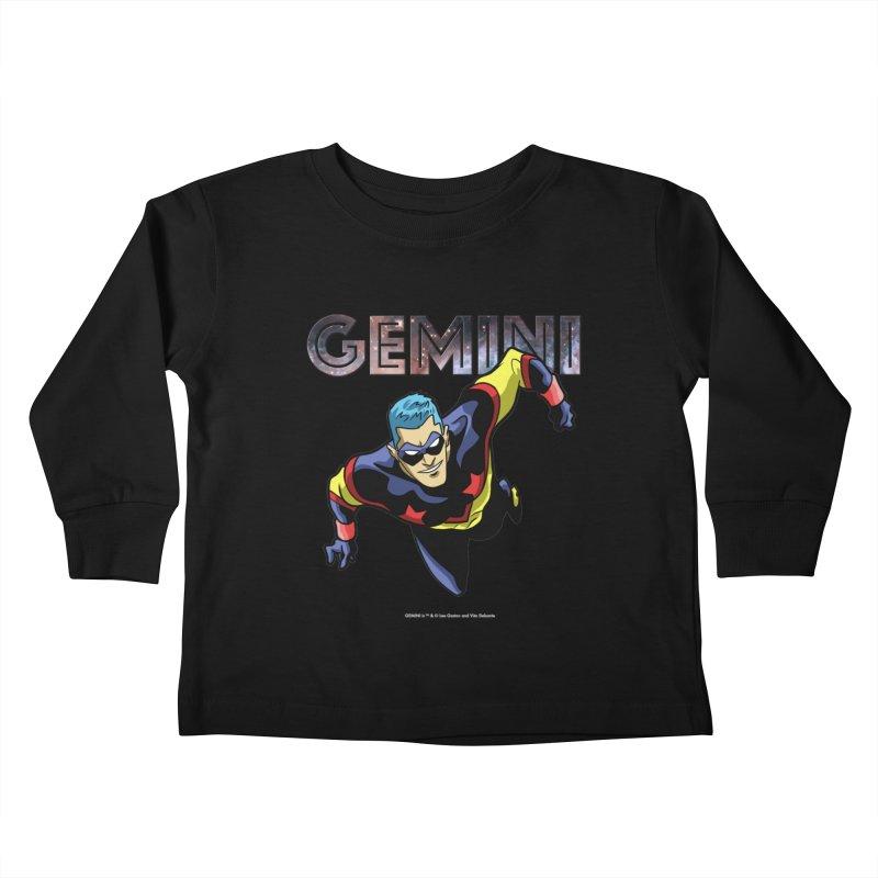 Gemini - Take Flight Kids Toddler Longsleeve T-Shirt by incogvito's Artist Shop