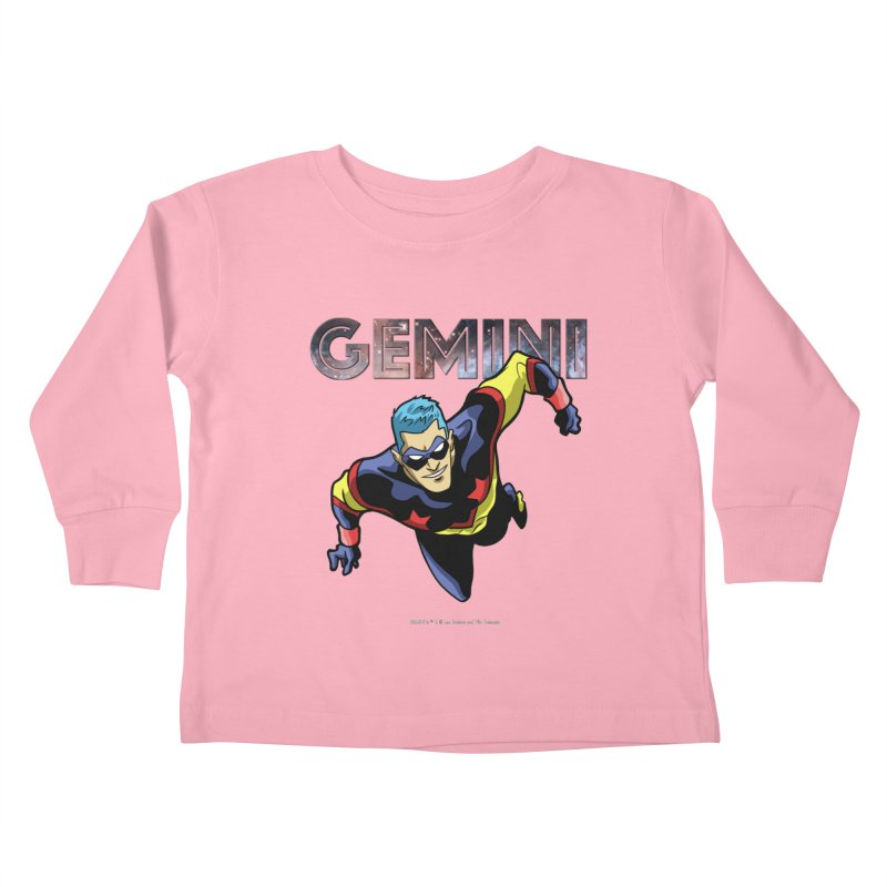 Gemini - Take Flight Kids Toddler Longsleeve T-Shirt by incogvito's Artist Shop
