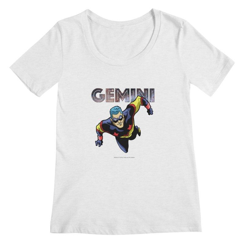 Gemini - Take Flight Women's Regular Scoop Neck by incogvito's Artist Shop