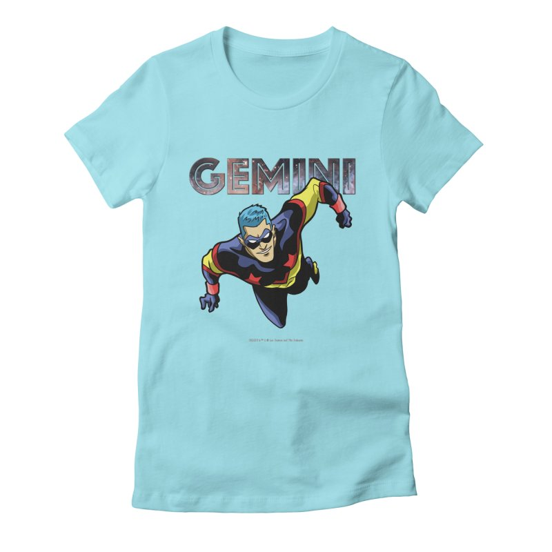 Gemini - Take Flight Women's Fitted T-Shirt by incogvito's Artist Shop