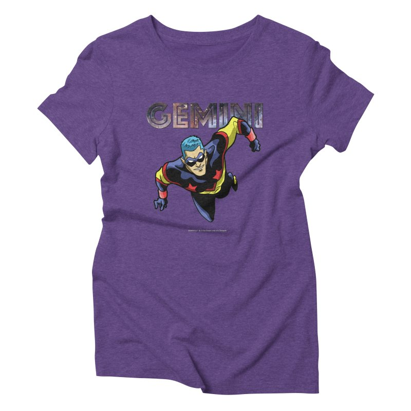 Gemini - Take Flight Women's Triblend T-Shirt by incogvito's Artist Shop