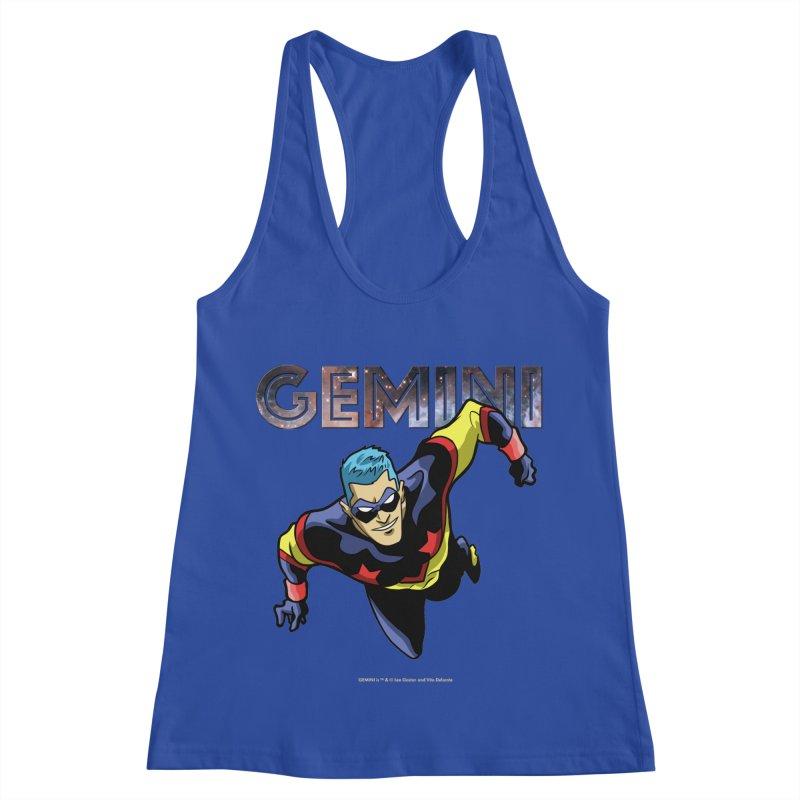 Gemini - Take Flight Women's Racerback Tank by incogvito's Artist Shop