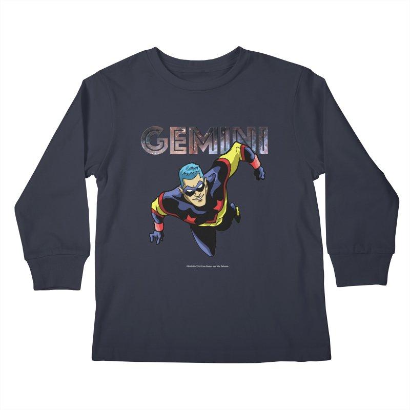 Gemini - Take Flight Kids Longsleeve T-Shirt by incogvito's Artist Shop