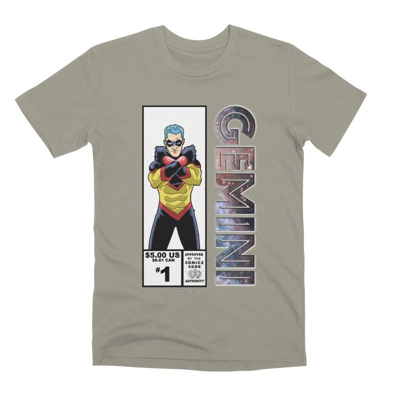 Gemini - Retro Corner Box Men's Premium T-Shirt by incogvito's Artist Shop