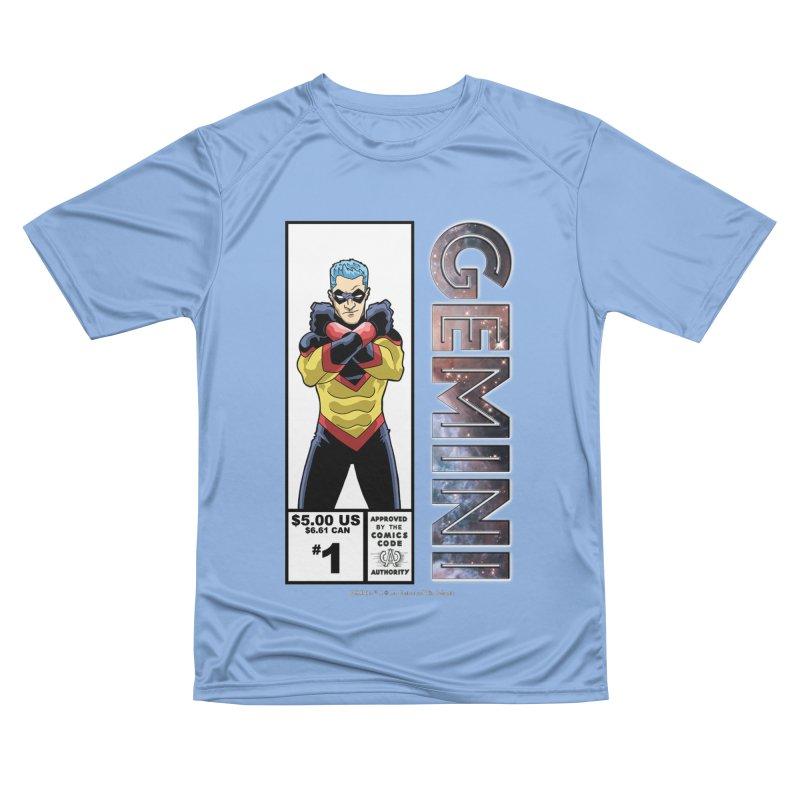 Gemini - Retro Corner Box Men's T-Shirt by incogvito's Artist Shop