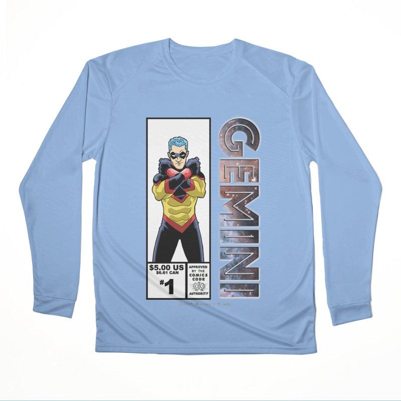 Gemini - Retro Corner Box Women's Longsleeve T-Shirt by incogvito's Artist Shop