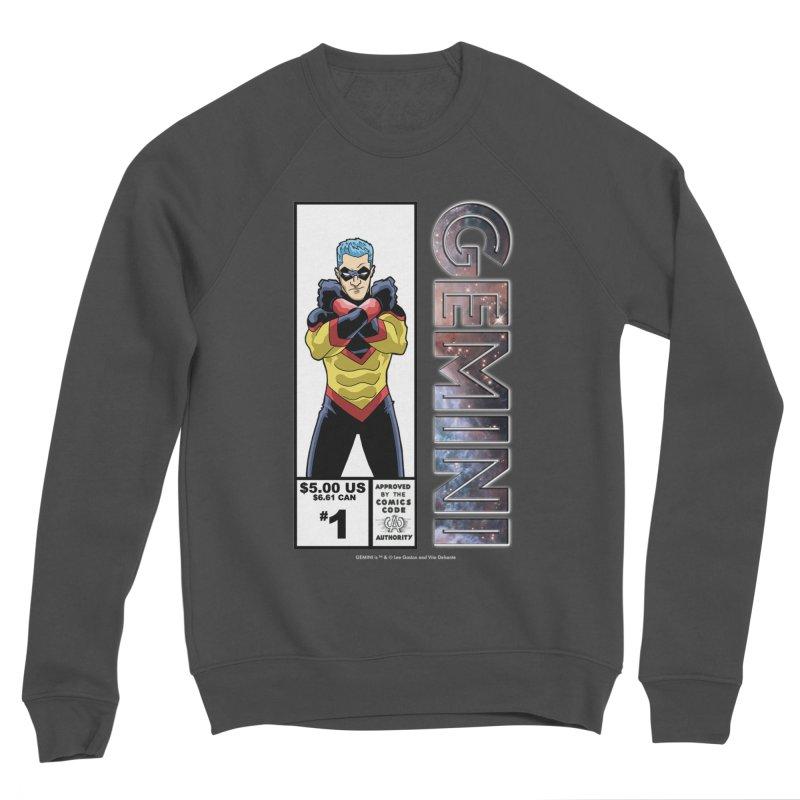 Gemini - Retro Corner Box Men's Sponge Fleece Sweatshirt by incogvito's Artist Shop