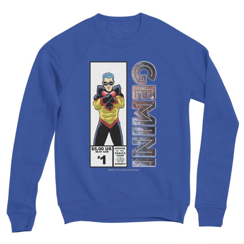 Gemini - Retro Corner Box Women's Sponge Fleece Sweatshirt by incogvito's Artist Shop