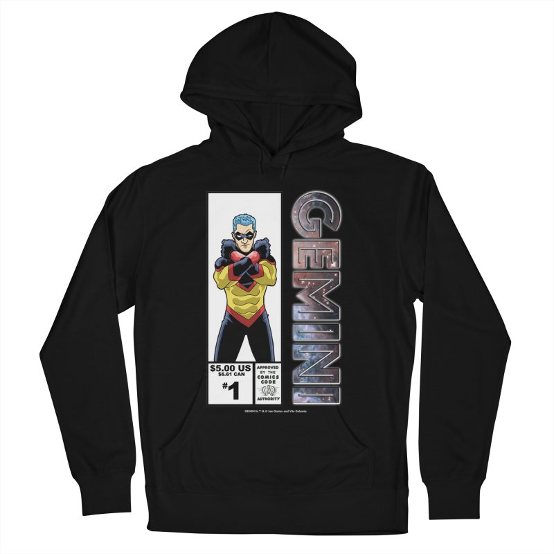 Gemini - Retro Corner Box Women's French Terry Pullover Hoody by incogvito's Artist Shop