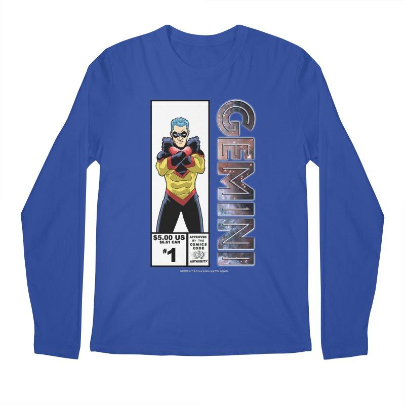 Gemini - Retro Corner Box Men's Regular Longsleeve T-Shirt by incogvito's Artist Shop
