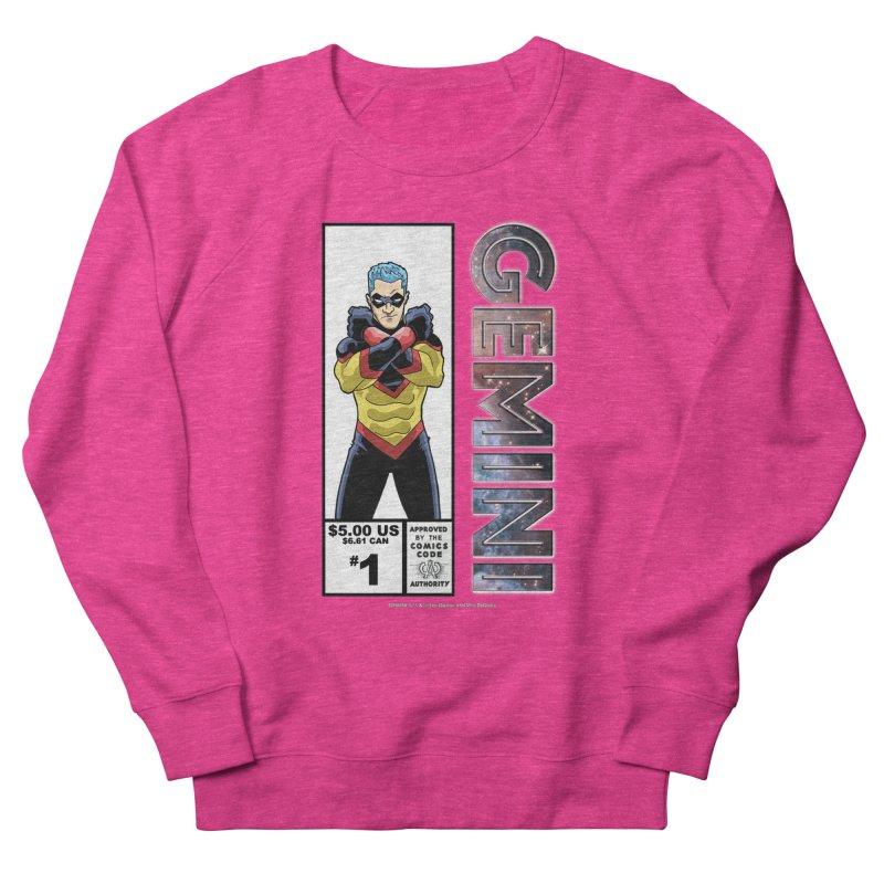 Gemini - Retro Corner Box Women's French Terry Sweatshirt by incogvito's Artist Shop