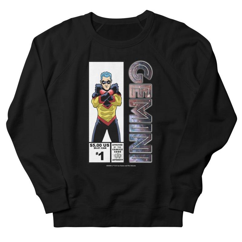 Gemini - Retro Corner Box Men's French Terry Sweatshirt by incogvito's Artist Shop