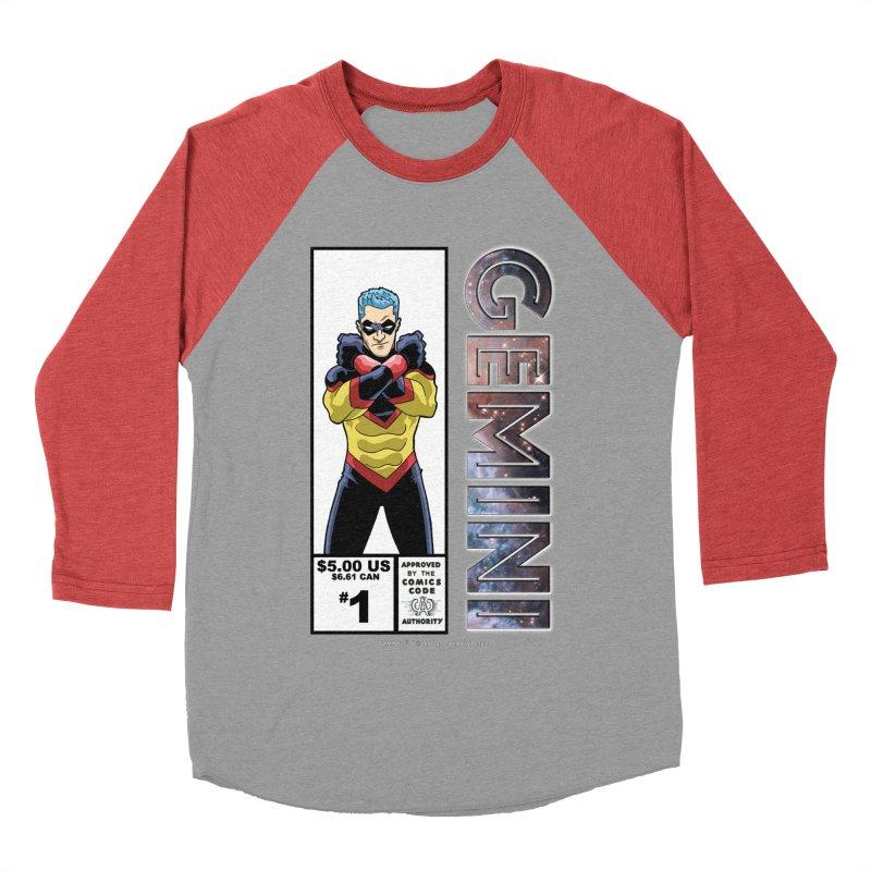 Gemini - Retro Corner Box Women's Baseball Triblend Longsleeve T-Shirt by incogvito's Artist Shop