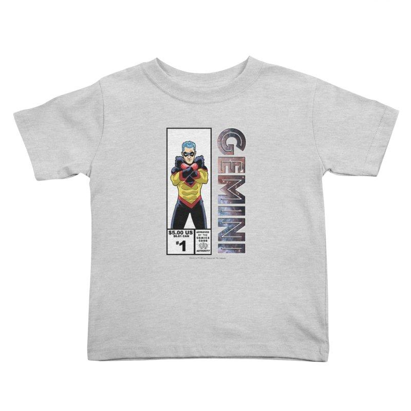 Gemini - Retro Corner Box Kids Toddler T-Shirt by incogvito's Artist Shop