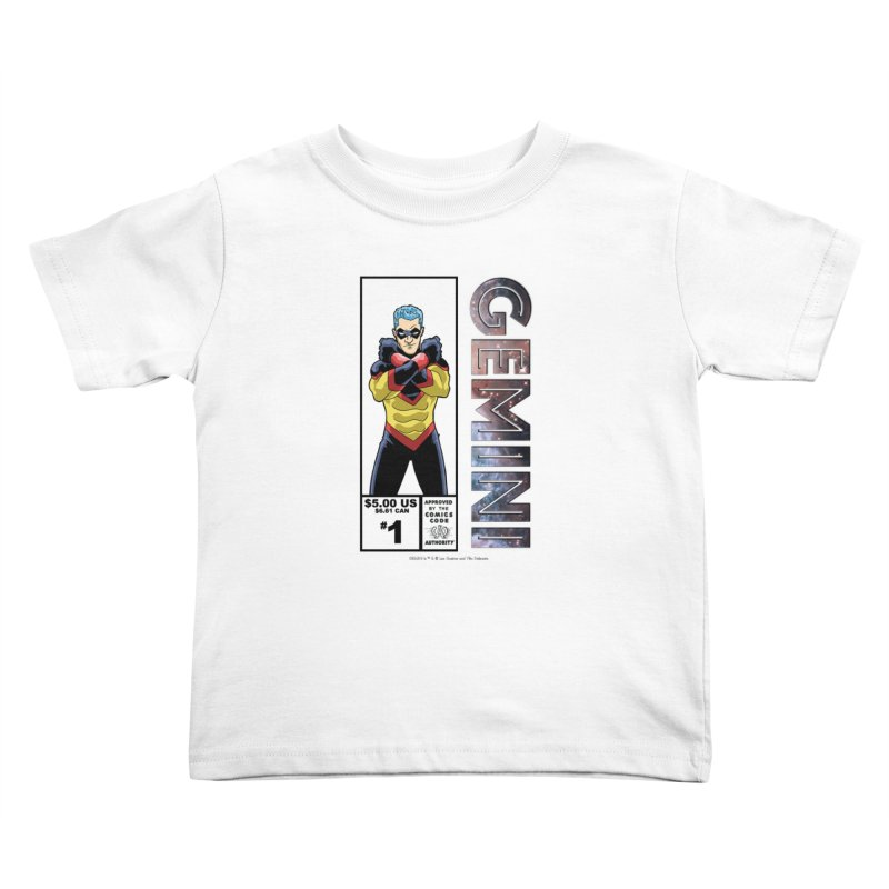 Gemini - Retro Corner Box Kids Toddler T-Shirt by incogvito's Artist Shop