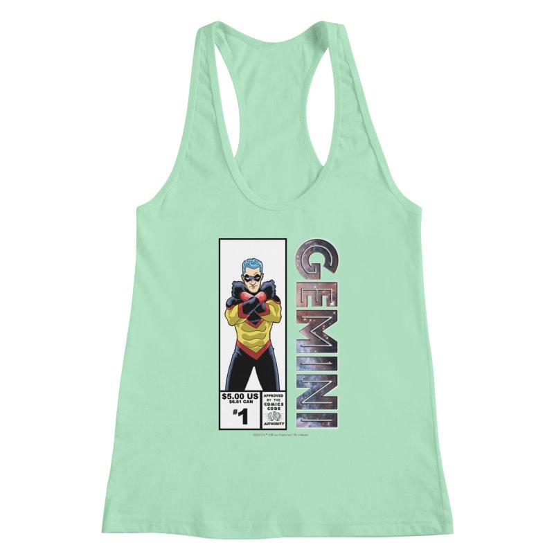 Gemini - Retro Corner Box Women's Tank by incogvito's Artist Shop