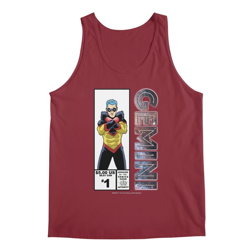 Gemini - Retro Corner Box Men's Tank by incogvito's Artist Shop