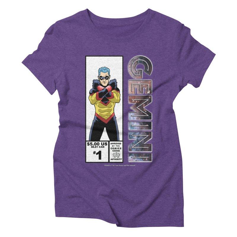 Gemini - Retro Corner Box Women's Triblend T-Shirt by incogvito's Artist Shop