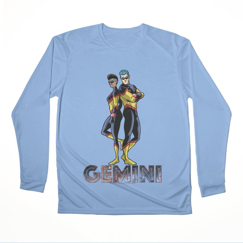 Gemini - Daring Duo Men's Performance Longsleeve T-Shirt by incogvito's Artist Shop