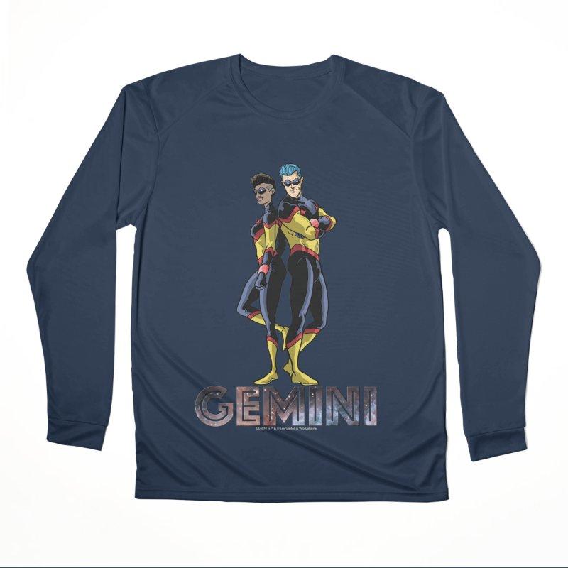 Gemini - Daring Duo Men's Performance Longsleeve T-Shirt by incogvito's Artist Shop