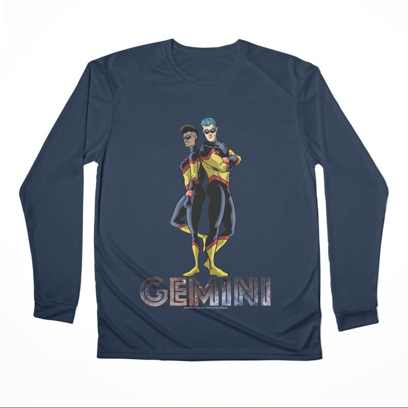 Gemini - Daring Duo Women's Performance Unisex Longsleeve T-Shirt by incogvito's Artist Shop