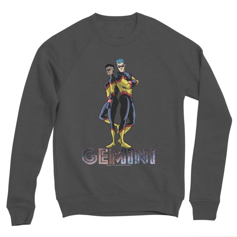 Gemini - Daring Duo Women's Sponge Fleece Sweatshirt by incogvito's Artist Shop
