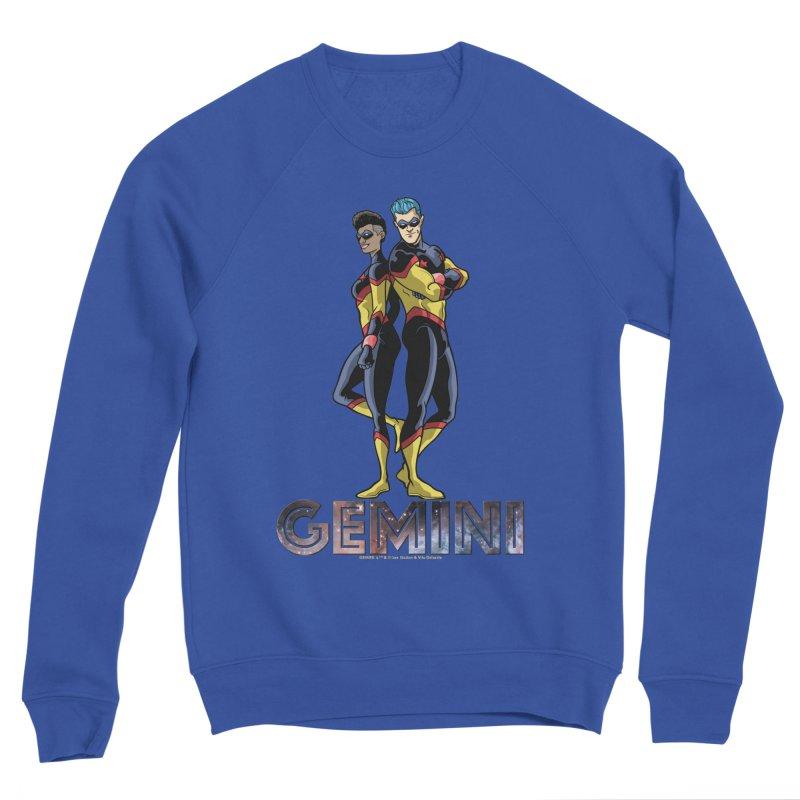 Gemini - Daring Duo Men's Sponge Fleece Sweatshirt by incogvito's Artist Shop